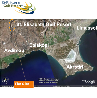 St Elisabeth Golf Resort Location map